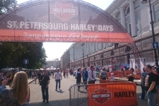 Фестиваль Harley Days в Петербурге