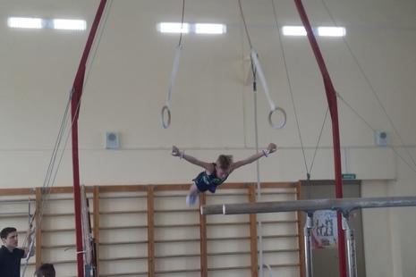 В центре прошло первенство по спортивной гимнастике