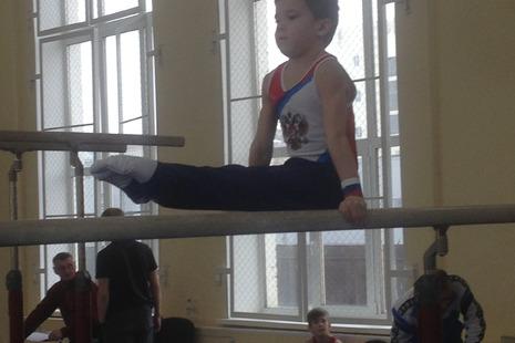 Первенство СШ Центрального района по спортивной гимнастике