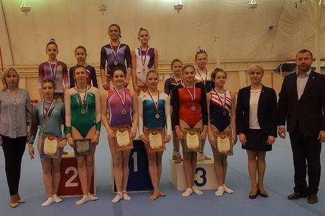 Спортсмены СШОР №1 Центрального района успешно выступили на Всероссийских соревнования по спортивной гимнастике