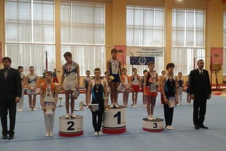 С Первенства города по спортивной гимнастике - с медалями!