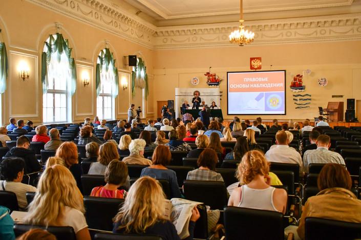 Общественная палата Санкт-Петербурга провела обучение наблюдателей в Центральном районе города